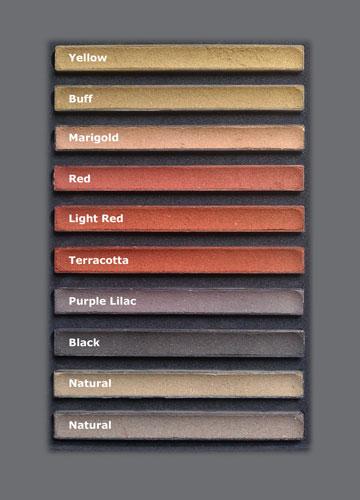 Colour Chart Remix Dry Mortar